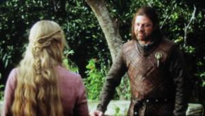 Ned Stark Warns Cersei