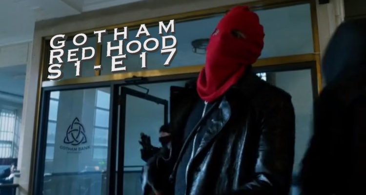 Gotham Red Hood